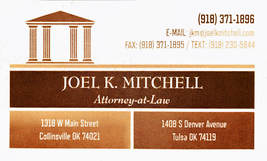 JOEL K. MITCHELL, Attorney-at-Law